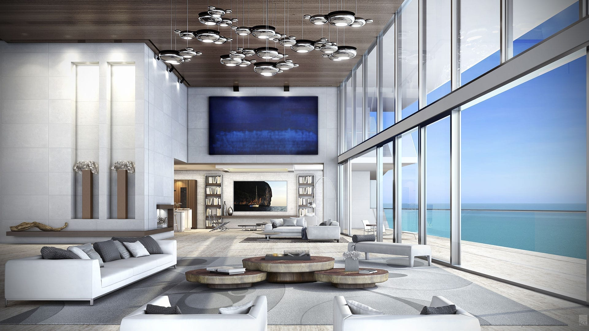 Turnberry Ocean Club - Miami Luxury Condo Design - Swedroe Architecture