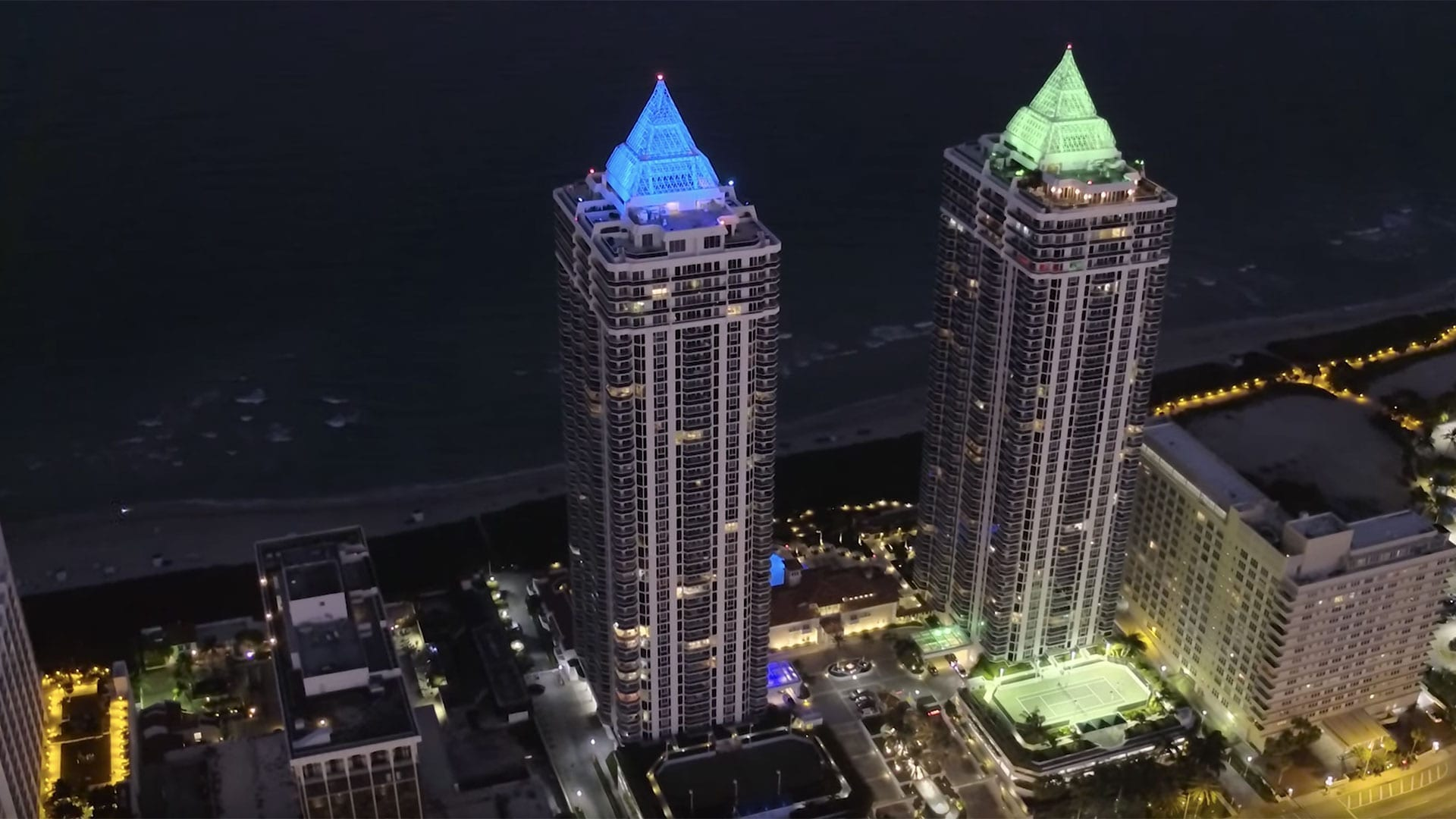 Blue & Green Diamond Luxury Condos - Designed by Swedroe Architecture - Miami Architect