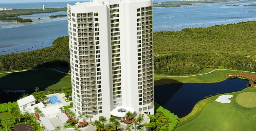 Omega Tower at Bonita Bay – Luxury High-Rise Residential Condo Design by Swedroe Architecture