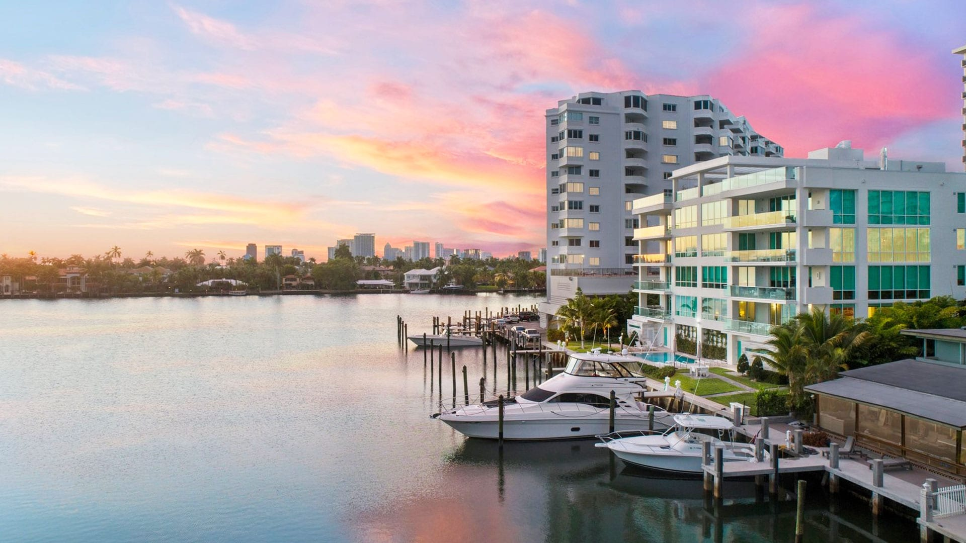 353 Sunset Lake Boutique Luxury Condos designed by Swedroe Architecture - Miami