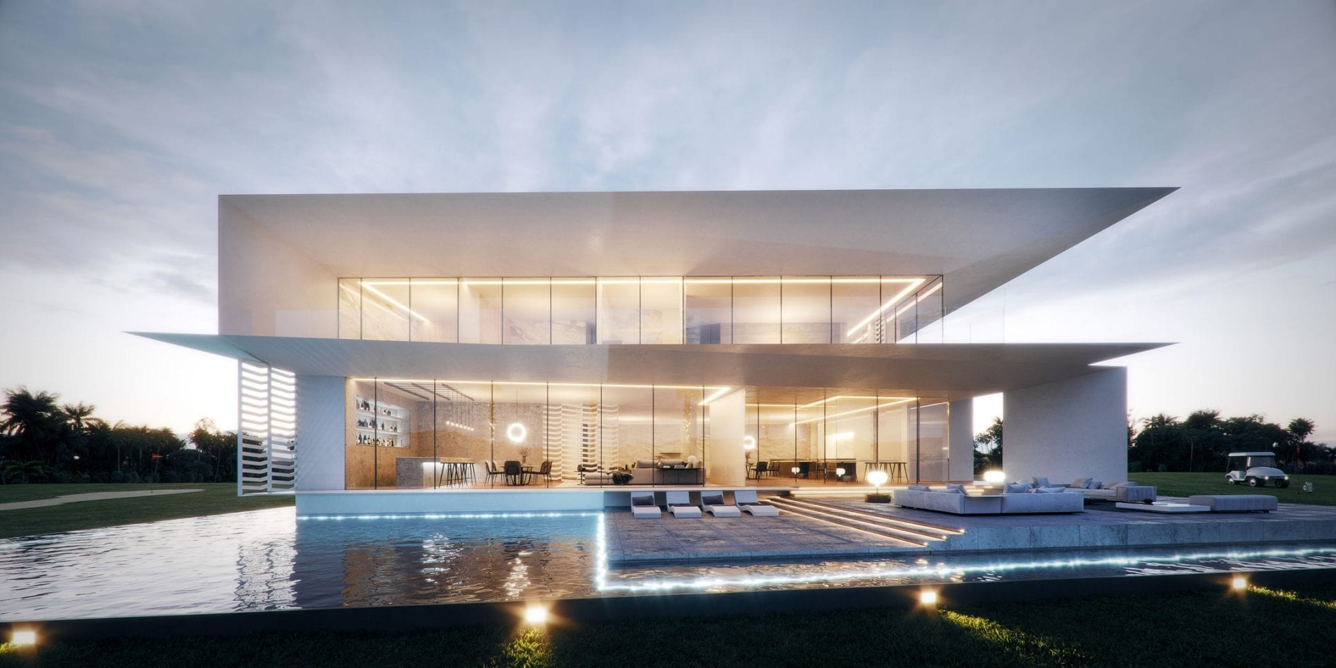 Modern House Design | Swedroe Miami Architects