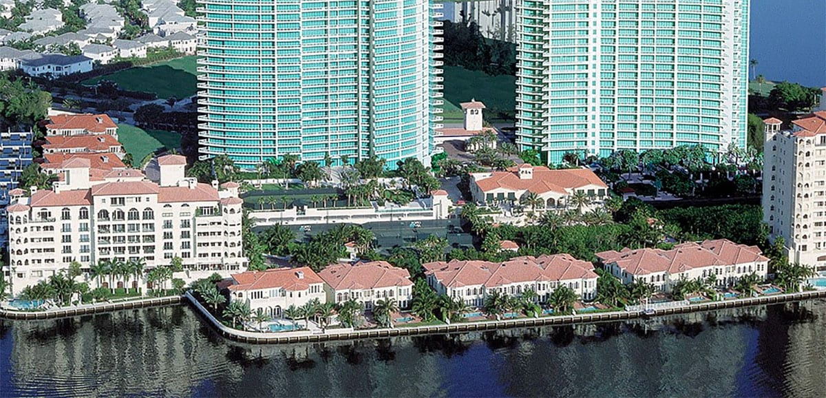 Porto Vita Luxury Mid-Rise Condo Design in Aventura, FL