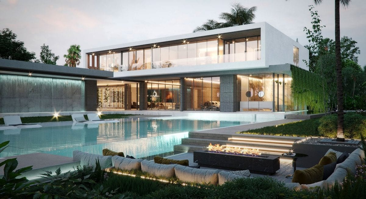 Luxury Modern Home Design by Swedroe Architecture Miami Top Architect