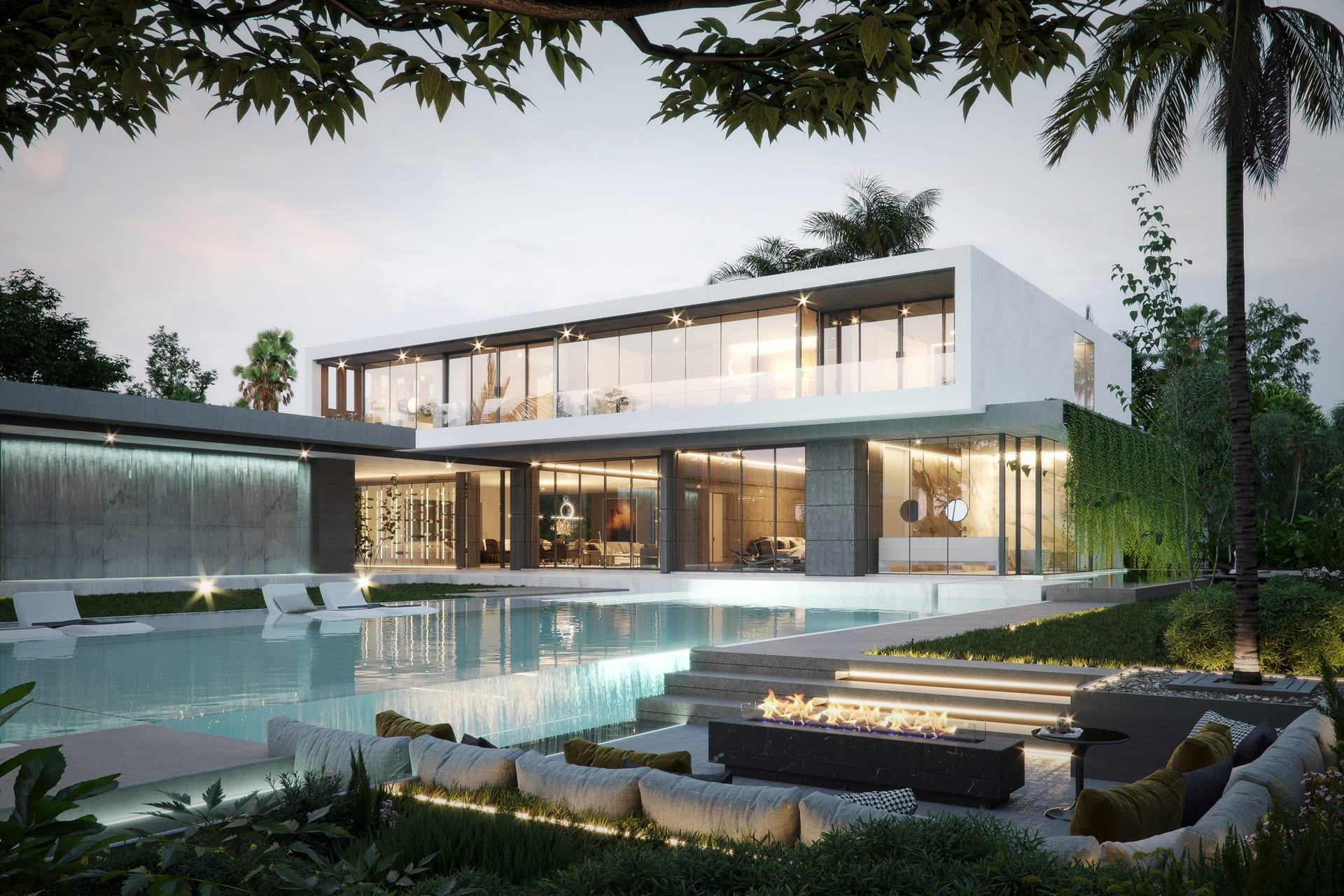 Luxury Single-Family Home Design in Miami by Swedroe Architecture and Rex Nichols Architects