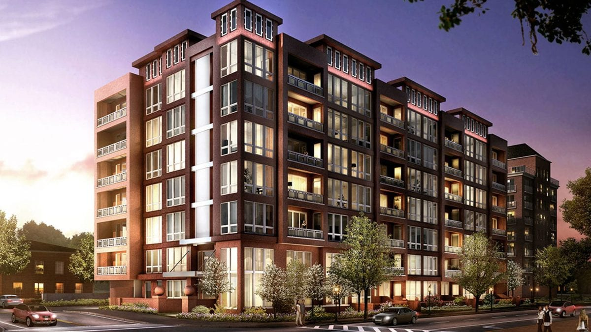 The Lauren Residences Luxury Condo Design - Bethesda - Swedroe Architecture