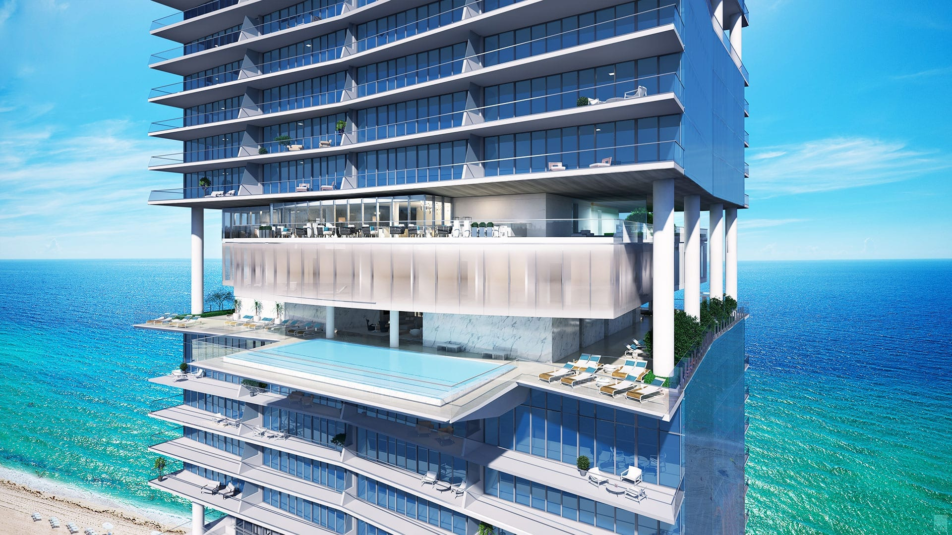 Turnberry Ocean Club - Swedroe Miami Architecture Miami
