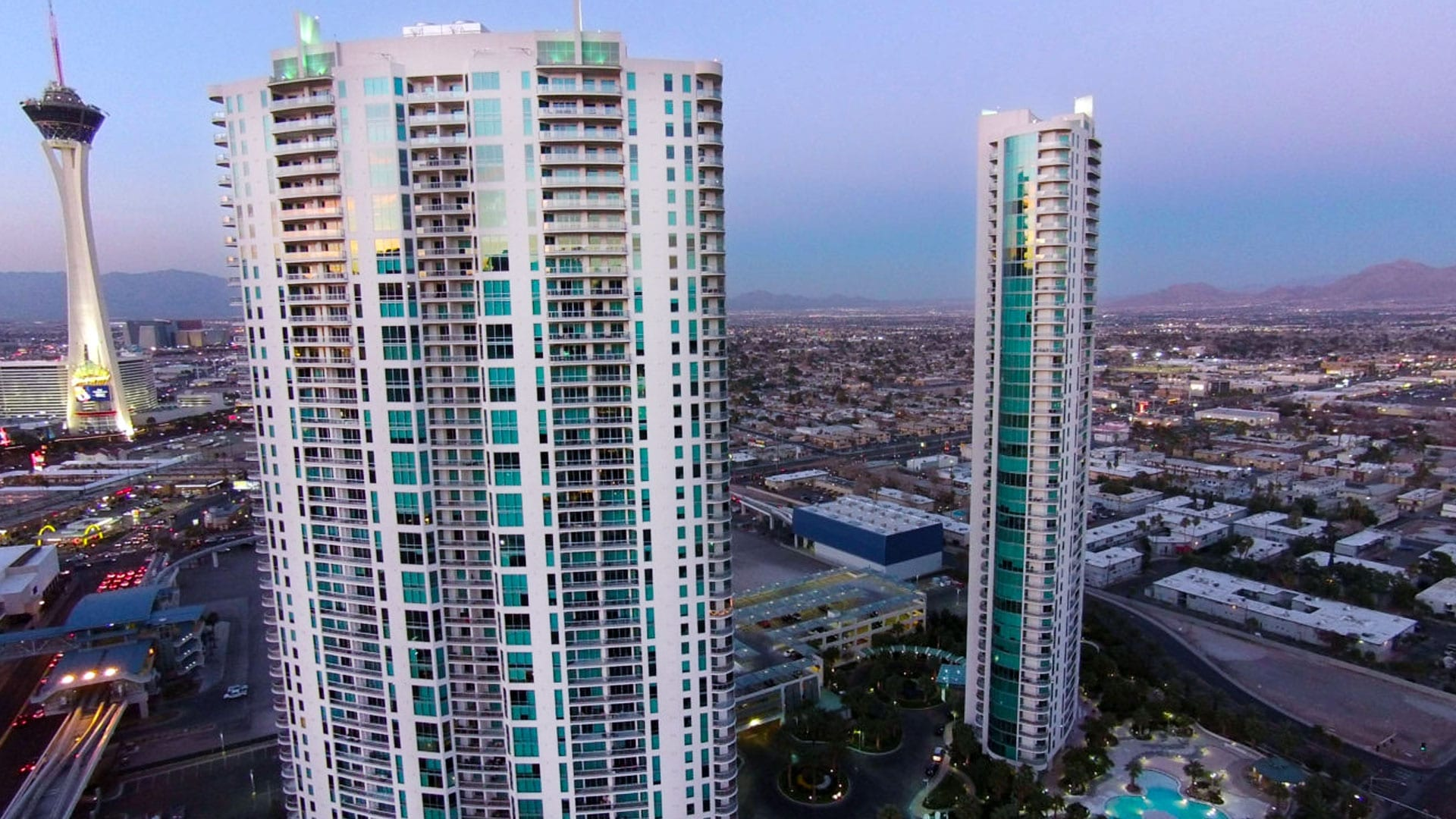 Turnberry Towers Las Vegas – High Rise Luxury Condo Towers – Swedroe Architecture Miami